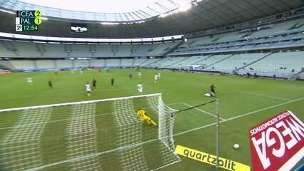 Melhores momentos: Ceará 2 x 1 Palmeiras pela 32ª rodada do Brasileirão 2020