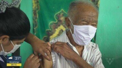Quilombolas do Vale do Ribeira recebem primeira dose da vacina contra Covid-19