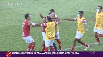 Vila Nova goleia o Remo e fica perto do título da Série C