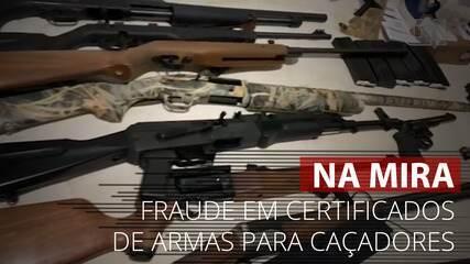 Operação no DF mira fraude em certificados de armas para caçadores