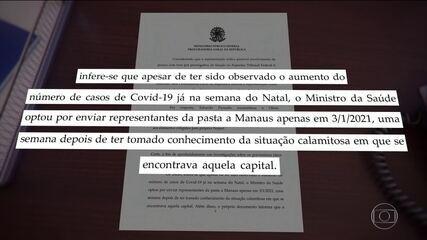 Lewandowski autoriza abertura de inquérito sobre conduta de Pazuello na crise do AM