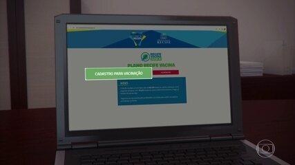 Vacinação contra Covid-19 no Recife: saiba como fazer cadastro e agendar