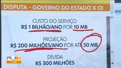 Serviço de internet do governo do Rio é cortado
