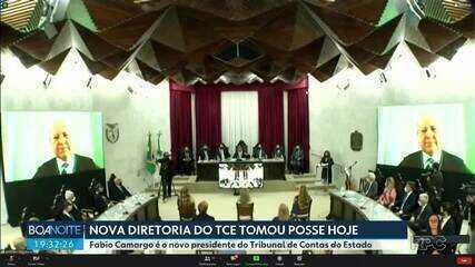 Fabio Camargo é o novo presidente do Tribunal de Contas do Estado