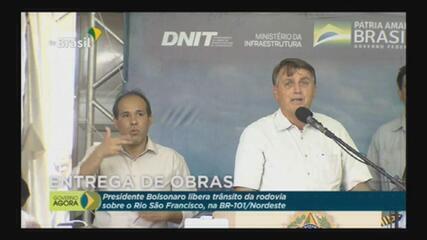 """Bolsonaro diz que Arthur Lira (PP-AL), 'se Deus quiser', será 'o segundo homem na linha hierárquica do Brasil"""" ."""