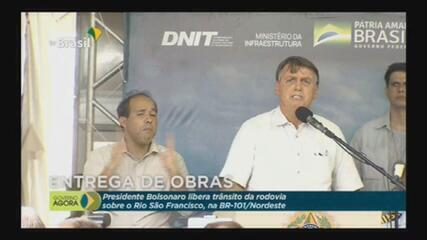 VÍDEO: 'Recuperamos isso daí', diz Bolsonaro sobre queda de empregos formais em 2020