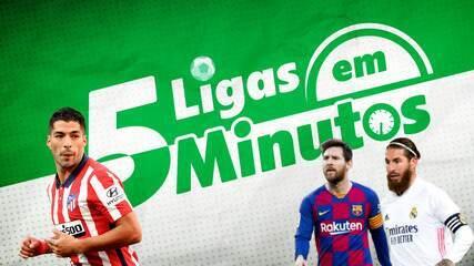 5 ligas em 5 minutos: PL tipo Brasileirão, e Real e Barça na caça ao Atlético na Espanha