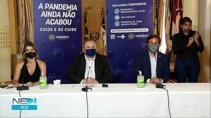 PE suspende feriado de carnaval devido à pandemia de Covid-19