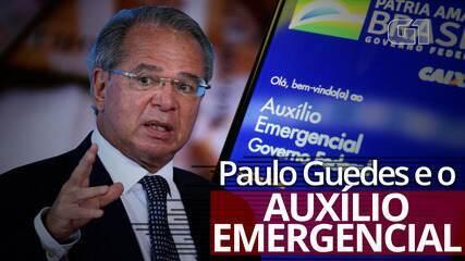 VÍDEO: A cronologia das declarações de Paulo Guedes sobre o auxílio emergencial