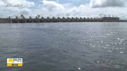 Ibama determina maior vazão de água da hidrelétrica de Belo Monte, sudoeste do Pará