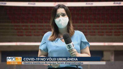 Jogadores do Vôlei Uberlândia testam positivo para Covid-19; jogo da Superliga é adiado