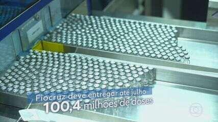 Matéria-prima para produzir vacina de Oxford chega ao Rio no sábado (6)
