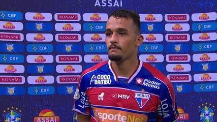 Igor Torres se emocionou com seu primeiro gol como profissional
