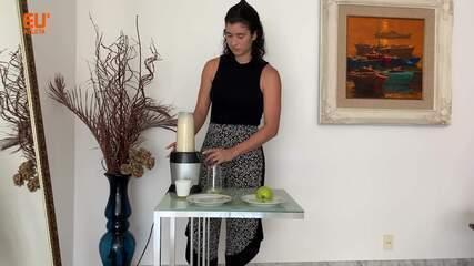 Nutricionista ensina suco para encarar a mudança na rotina dos sábados