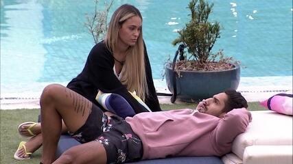 Arcrebiano diz a Sarah: 'Queriam que eu votasse em você e no Gil, eu não vou fazer isso'