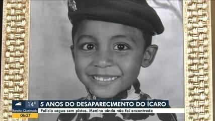 Desaparecimento do menino Ícaro completa cinco anos sem resposta em SC