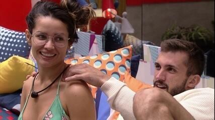 Juliette incentiva aproximação de Arthur com sister no BBB21: 'Quero esse casal'