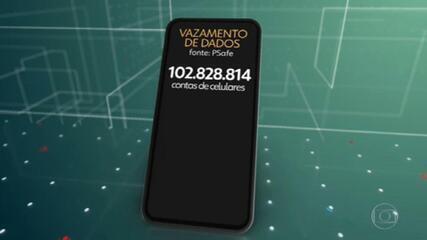 Mais de cem milhões de brasileiros tiveram dados celulares vazados ilegamente