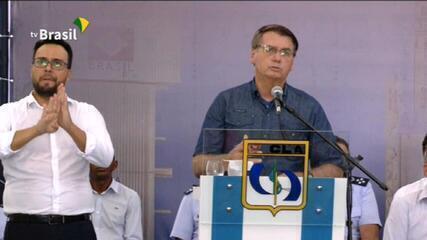 Bolsonaro sobre auxílio emergencial: 'Estudamos por mais alguns meses a extensão'