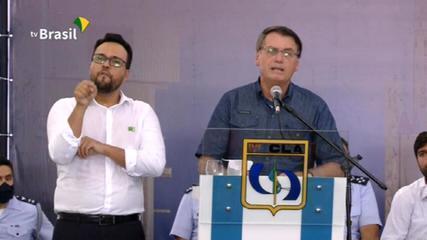 VÍDEO: Bolsonaro diz que não justifica qualquer reclamação de não haver leitos de UTI no Maranhão