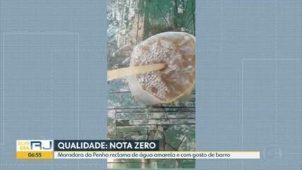 Moradores do Rio continuam reclamando do abastecimento e da água suja da Cedae