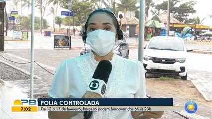 9262950 - Bares e restaurantes da Paraíba só podem funcionar até as 23h até a quarta-feira de cinzas | Paraíba