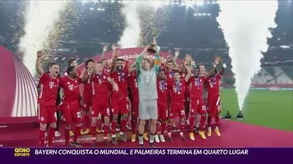 Bayern conquista o Mundial, e Palmeiras termina em quarto lugar
