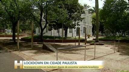 Araraquara tem 12 casos da cepa brasileira do coronavírus e proíbe circulação de pessoas