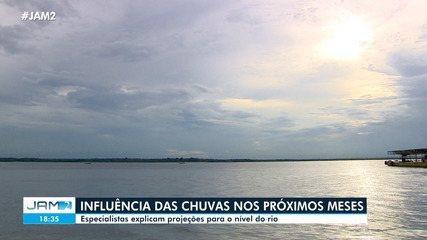A influência das chuvas nos próximos meses no Amazonas