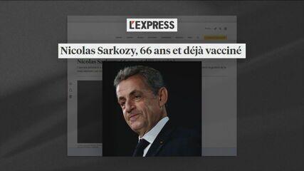 Ex-presidente Nicolas Sarkozy fura fila da vacina contra Covid-19 na França