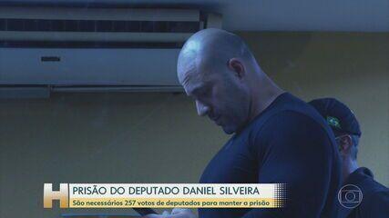 Moraes autoriza Silveira a participar por vídeo da sessão na Câmara que vai votar a prisão do deputado