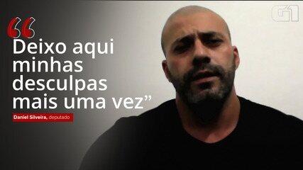 Daniel Silveira pediu desculpas 4 vezes por vídeo; assista