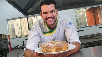 Receita de pão de fubá de milho