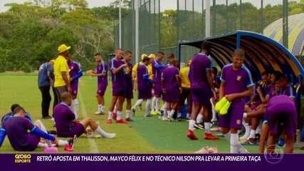 Retrô aposta em Thallyson, Mayco Félix e técnico Nilson para ser campeão estadual