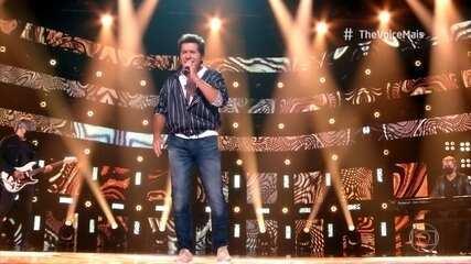 Daniel canta 'Amei Uma Vez Só' no palco do 'The Voice +'