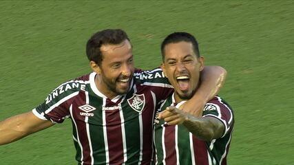 Gol do Fluminense! Luiz Henrique domina no ataque e lança Lucca, que finaliza, aos 15 do 1ºT