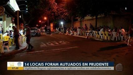 Estabelecimentos são multados pelo descumprimento das normas sanitárias do Plano São Paulo