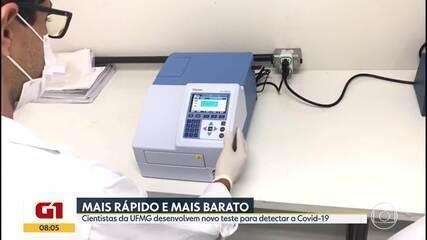 Cientistas da UFMG desenvolvem novo teste para detectar a Covid-19