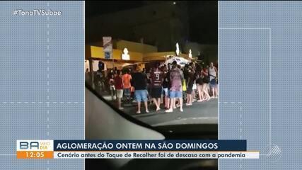 Bairro de Santa Mônica registra aglomeração no ultimo final de semana