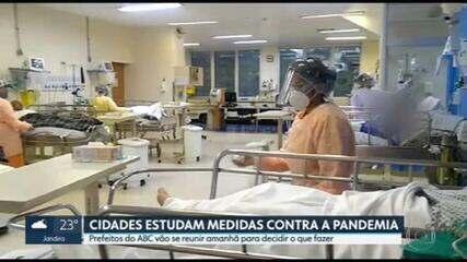 São Paulo registra o maior número de pacientes com Covid-19 internados em UTIs