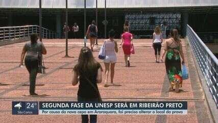 Estudantes de Araraquara reclamam da mudança de local de prova da Unesp