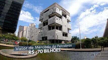 Troca de comando na Petrobras derruba as ações da empresa e a bolsa