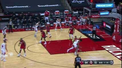 Melhores momentos: Houston Rockets 100 x 120 Chicago Bulls pela NBA