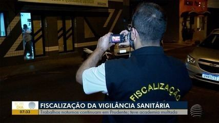 Vigilância Sanitária multa academia em Presidente Prudente