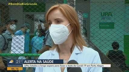 UPAs e postos de saúde estão superlotados devido à Covid-19 em Porto Alegre