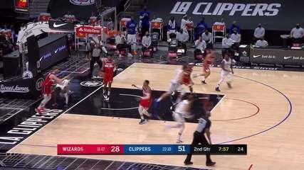 Melhores momentos: Los Angeles Clippers 135 x 116 Washington Wizards pela NBA