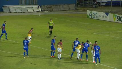 Veja os gols de Marcílio Dias 1 x 2 Brusque pela primeira rodada do Campeonato Catarinense