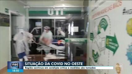 Confira como está a situação do sistema de saúde de SC nesta quinta-feira