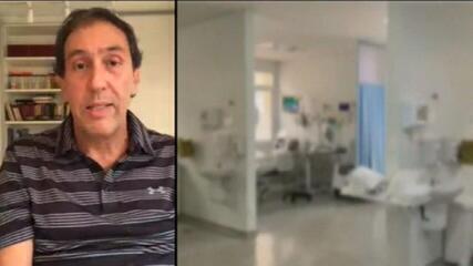 'É um paliativo', diz infectologista sobre transferência de pacientes com Covid-19