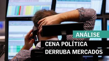 Cena política derruba mercados